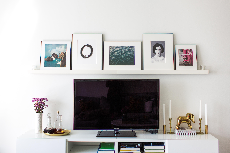 Decorating with gallery ledges - Erin Kestenbaum